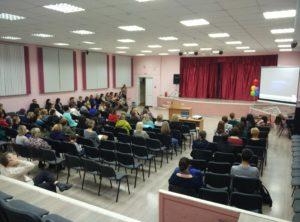 Общее дело на родительском собрании в лицее №41 города Костромы