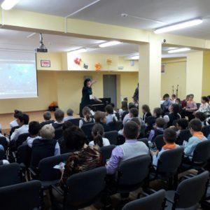 Общее дело в школе №9 города Нягань ХМАО-Югра