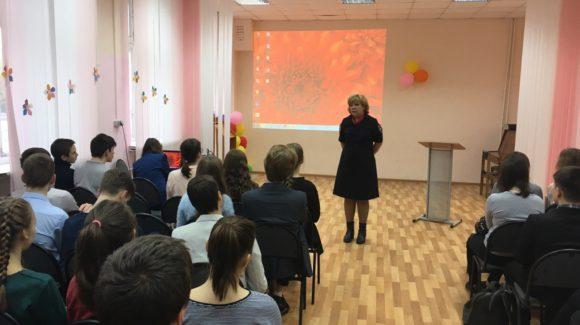 Общее дело на уроке, посвященном профилактике правонарушений и преступлений несовершеннолетних в школе №27 города Костромы