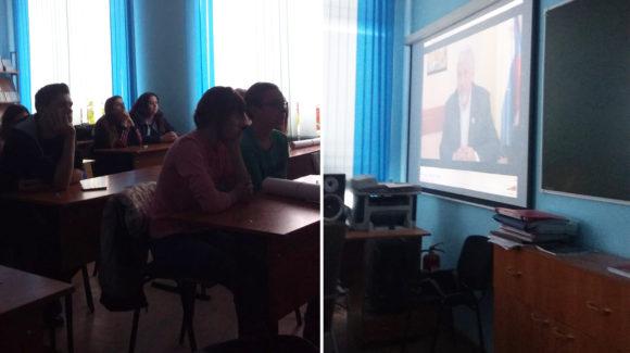 Общее дело в Новосибирском архитектурно-строительном колледже