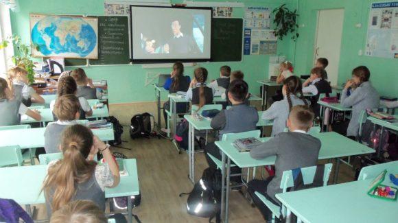 Общее дело в школе №1 города Великий Устюг