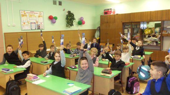 Общее дело в школе 22 города Вологда