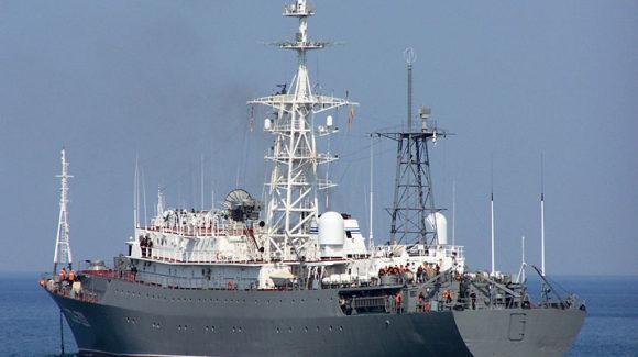 Общее дело в в/ч №53189 на среднем разведывательном корабле «Приазовье» республика Крым