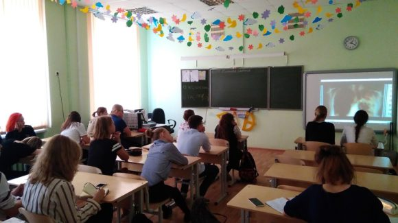 Лекторы СРОО «Общее дело» провели занятие с учениками гимназии №202 г. Екатеринбурга