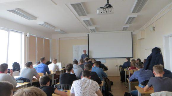 Активисты СРОО «Общее Дело» провели лекцию для студентов первого курса УрФУ г. Екатеринбурга