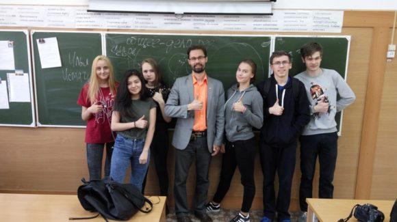 Представители СРОО «Общее дело» провели профилактическое занятие для учеников СОШ №33 г. Березовский Свердловской области