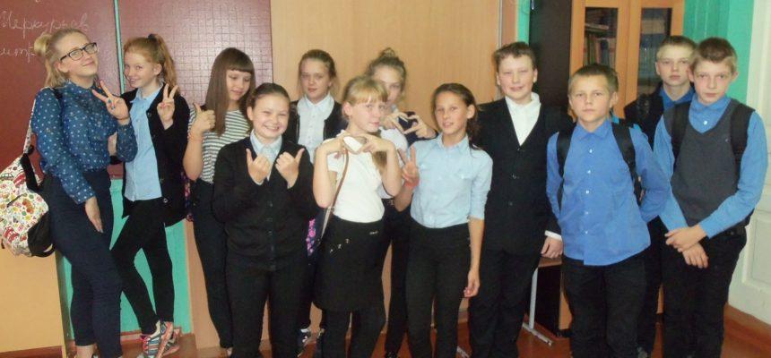 Общее дело в Голузинской школе Вологодской области