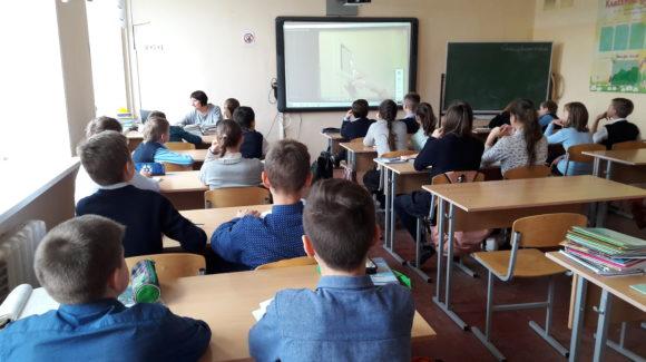 «Общее дело» в лицее №14 города Владимир с учениками 6Б класса