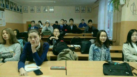 Общее Дело в Кижингинском лицее имени В. С. Мункина