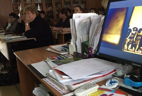 Общее дело в школе №3 города Ногинска Московская область