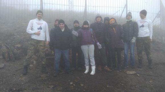 Ставропольское отделение Общего дела совершило восхождение на гору Бештау