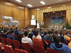 Общее дело в Аграрно-технологическом техникуме «Дубна» Московской области