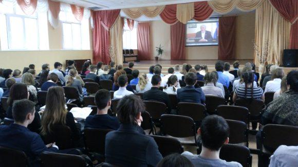 Общее дело в школе №19 г. Димитровграда Ульяновской области
