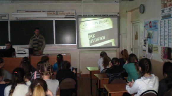 Активисты Ивановского отделения Общероссийской общественной организации «Общее дело» провели профилактические уроки в городе Вичуга