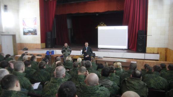 Общее дело в воинской части №08802 ДНР