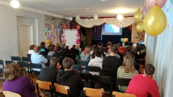 Урок Трезвости организовали активисты Общероссийской общественной организации «Общее дело» для воспитанников Школы-интерната № 8 города Донецк