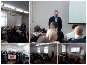 Активисты Общероссийской общественной организации «Общее дело» посетили реабилитационный центр «Маяк» в городе Воронеж
