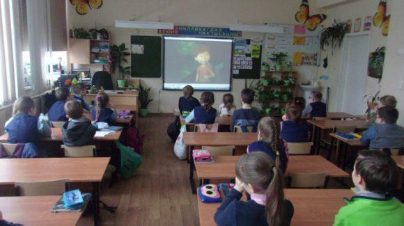 Учащиеся  3 классов средней общеобразовательной школы № 3 города Петрозаводска стали участниками профилактических программ ООО «Общее дело»