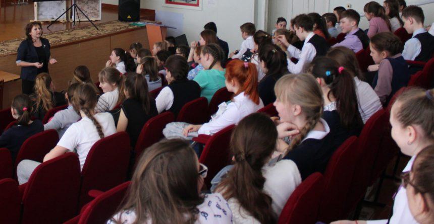 Молодежь Игринской СОШ №4 познакомилась с уникальным фильмом организации «Общее дело».