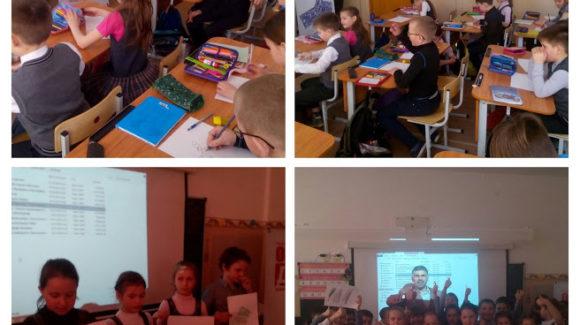 Интерактивный урок с просмотром мультфильма «Тайна едкого дыма» прошел в школе города Воронежа
