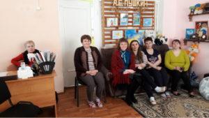 Активисты ОО «Общее дело» провели интерактивные занятия с просмотром фильмов для персонала и обучающих Пукиногорского детского сада «Сказка»