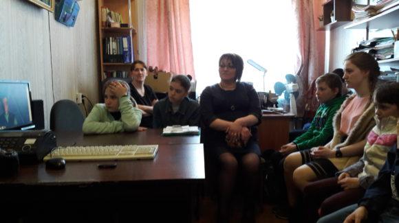 Презентация фильмов и мультфильмов ОО «Общее дело» прошла в Пушкиногорском районе