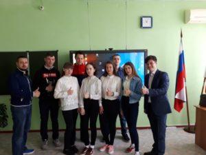 Активисты ОО «Общее дело» провели первое профилактическое занятие в Тацинской районе Ростовской области