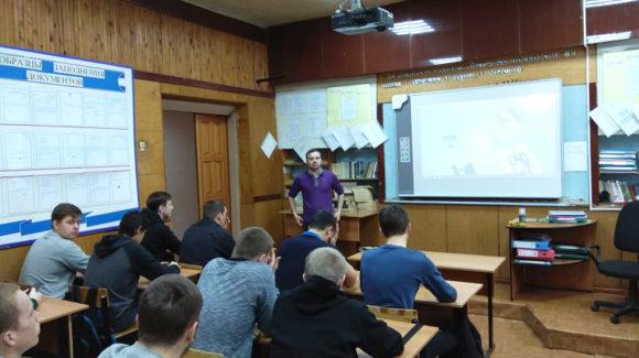 В Новосибирском промышленном колледже говорили о 5 секретах настоящего мужчины