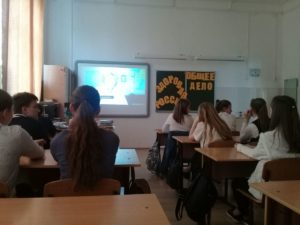 Активисты ОО «Общее дело» встретились со школьниками из города Краснодара