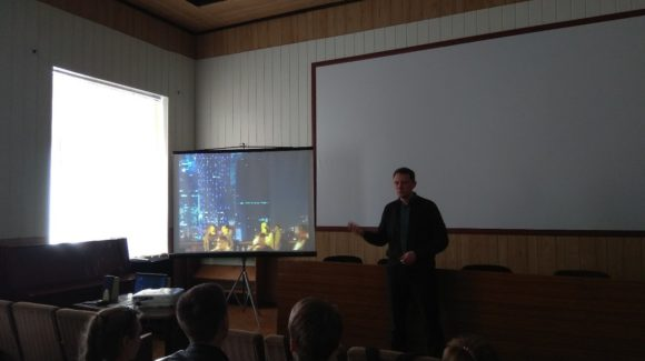 Активисты ОО «Общее дело» рассказали о профилактике вредных привычек студентам Донецкого транспортно-экономического колледжа