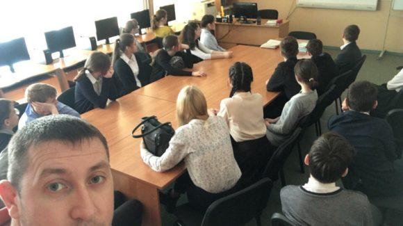 Активисты ОО «Общее дело» провели интерактивное занятие для учащихся школы № 2 города Нягань