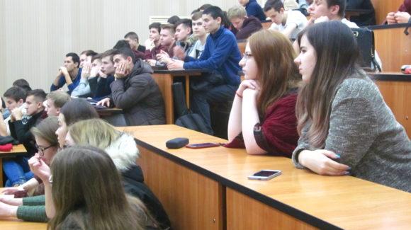 Лекция в Казанском государственном архитектурно-строительном университете