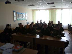 Активисты ОО «Общее дело» в Белокалитвинском Матвея Платова казачьем кадетском корпусе