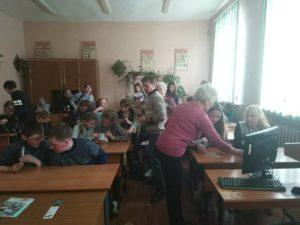 Активисты ОО «Общее дело» провели занятия в общеобразовательной школе № 10 города Кинешма