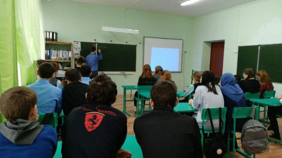 Лекция в Пестречинском районе Республики Татарстан