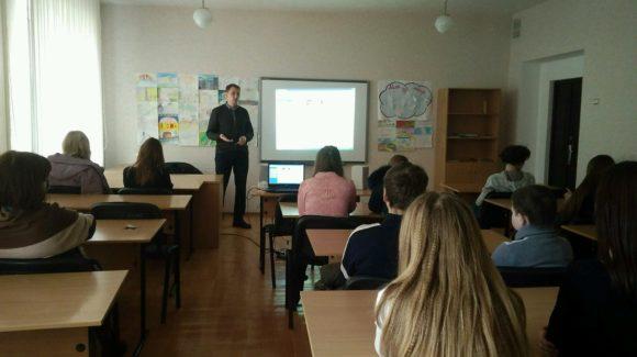 Учащиеся учебно-воспитательного комплекса № 16 города Донецка стали участниками профилактических мероприятий ОО «Общее дело»