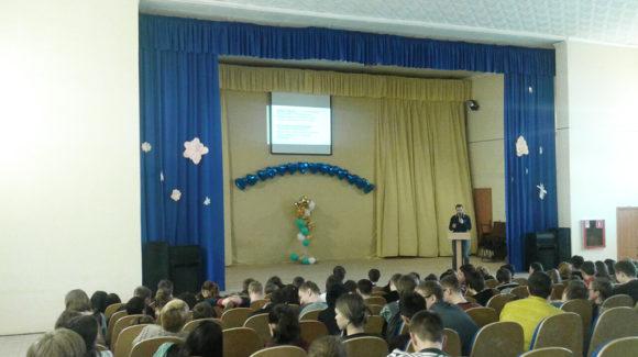 Активисты ОО «Общее дело» провели занятие «Конструктор отношений» для студентов Новосибирского электромеханического колледжа