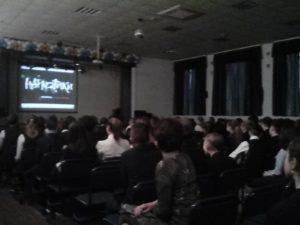 Лекция в средней школе №23 г. Казани