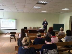 Активисты ОО «Общее дело» встретились с педагогами из города Нерехты