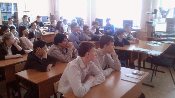 Школьники из Гимназии № 11 города Волгограда стали участниками уроков здорового образа жизни