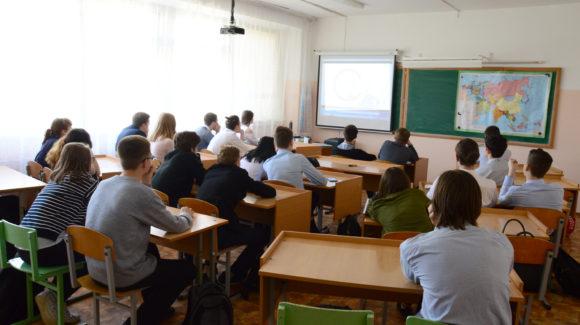 Активисты ОО «Общее дело» подвели итоги годового сотрудничества  в школе № 43 города Волгограда