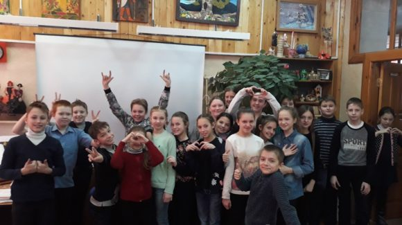 Активисты ОО «Общее дело» продолжают встречаться с школьниками из города Рыбинска
