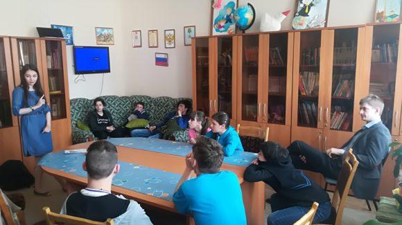 В детском доме № 1 города Нижний Новгород прошли профилактические занятия, организованные активистами ОО «Общее дело»