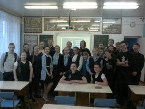 Активисты ОО «Общее дело» встретились со школьниками из школы № 4 города Великий Устюг