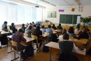 Более 95 учащихся школы из города Волгограда стали участниками уроков здорового образа жизни