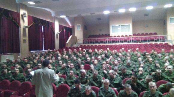 Военнослужащие срочной службы в дивизии Дзержинского Ф.Э. познакомились с материалами ОО «Общее дело»