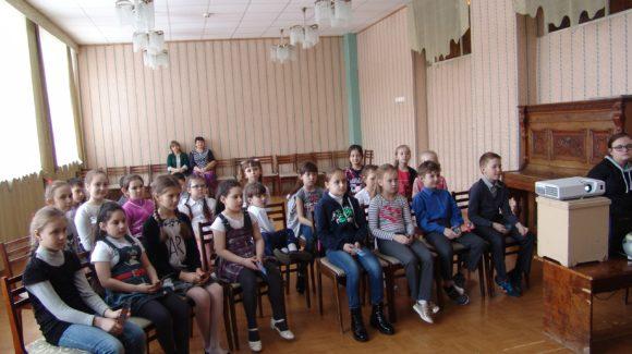 Лекция в МБОУ «Гимназия №20 имени Абдуллы Алиша»