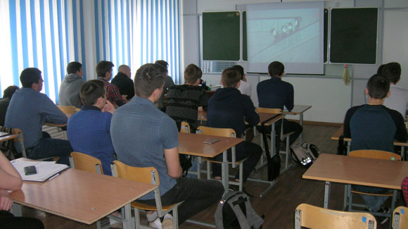 Лекция на тему «Профилактика от употребления наркотиков» прошла в Новосибирском колледже автосервиса и дорожного хозяйства