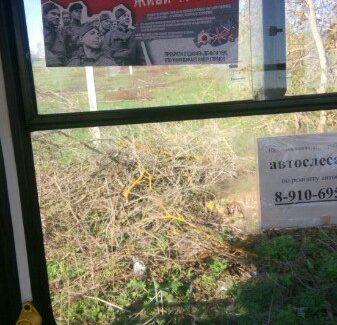Силами жителей и неравнодушных предпринимателей в общественном транспорте городов Ивановской области размещены плакаты «Спасибо деду за Победу!»