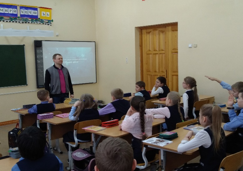 Общее дело в школе №14 города Кирова